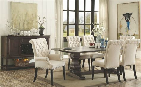 Espresso Dining Room Set by Parkins Rustic Espresso Rectangular Dining Room Set