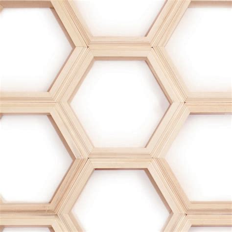 Individual Wall Shelves by Unfinished Individual Hexagon Shelves By Haase Handmade