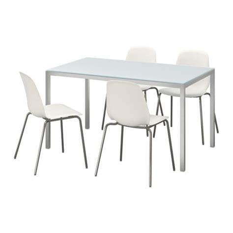 table de cuisine en verre ikea torsby leifarne table et 4 chaises ikea
