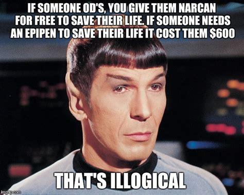 Spock Memes - logical spock imgflip