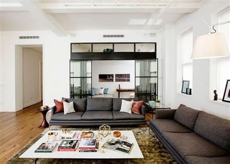 Wohnzimmer Ideen Ein New Yorker Loft Lädt Ein