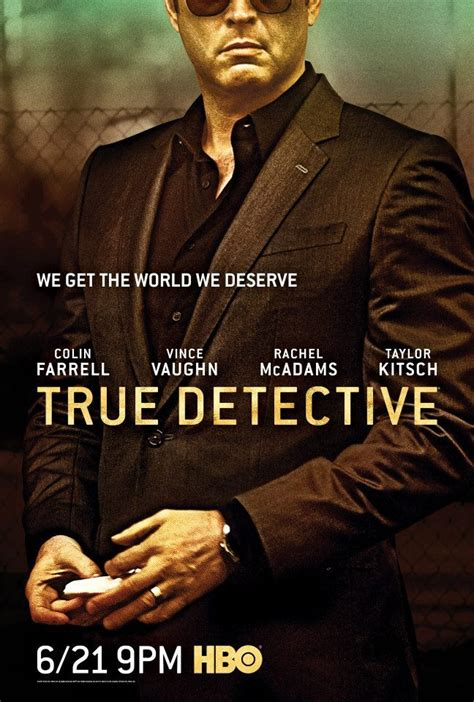 true detective season  character posters