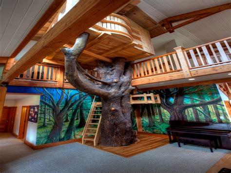 Small cozy bedrooms, indoor tree house design indoor