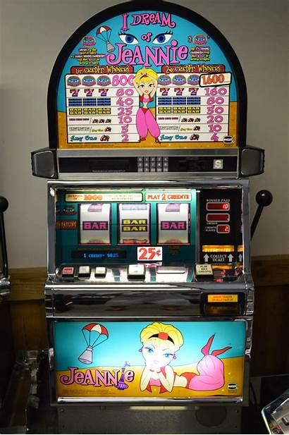 Slot Dream Jeannie Machine Machines Igt Reel