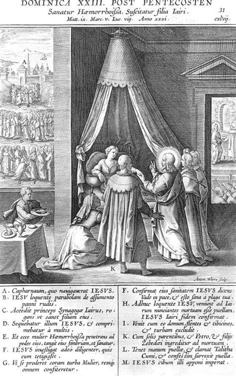 Het Dochtertje Jairus Kleurplaat by Afbeelding Missale Romanum 031 Ja 207 Rus Dochtertje Genezen