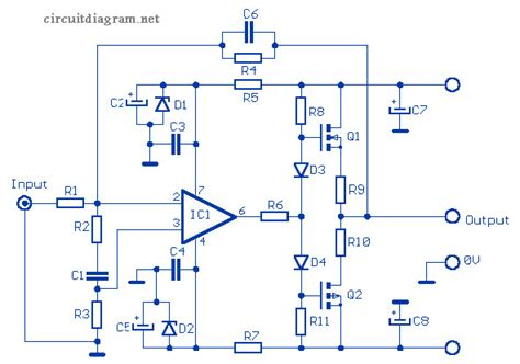 Audio Amplifier Based Mosfet