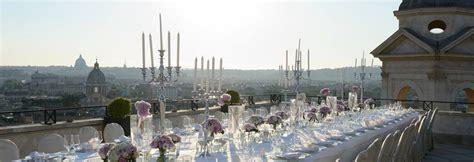 wedding hotels  rome hassler roma