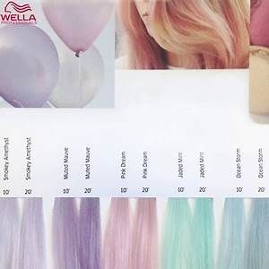 Wella Demi Permanent Chart Wella Instamatic Hair Color Free Shipping