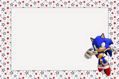 sonic free printable invitations oh my for geeks