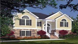 bi level house plans with attached garage split level house plans home designs the house designers