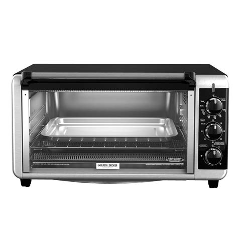 black decker stainless steel convection 6 slice toaster oven black decker 6 slice stainless steel toaster oven