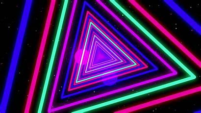 Neon Backgrounds Colorful Triangle Streaks Colors Background