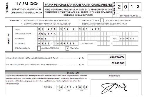 baixar formulir 1770 s excel tahun 2012