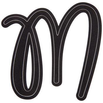 black letter sticker  hobby lobby  letter stickers create monogram lettering