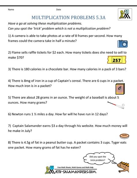 multiplication worksheet year 6 refrence collection of