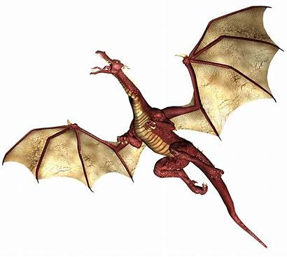 Dragon Flying Cool Orange Wings Dragons Clipart