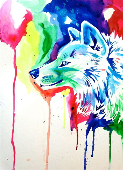 Anime Rainbow Wolf Wallpaper by Rainbow Wolf 5 By Lucky978 On Deviantart