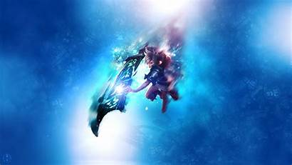 Riven League Legends Aynoe Computer Underwater Space