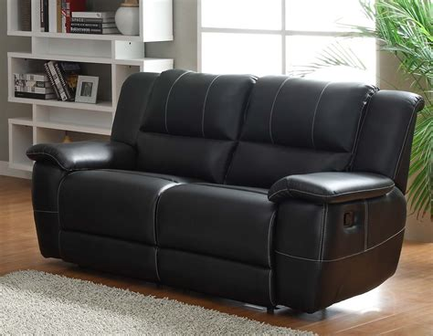 Leather Double Recliner Sofa Factory Direct Clic Double