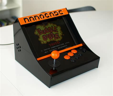 Mame Arcade Machine Kit by Nanocade Lets Your Netbook Become A Mini Mame Arcade