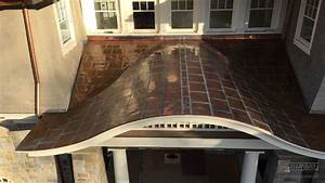 Roofing Types Flat Lock Copper Panel Roof Installation Massachusetts