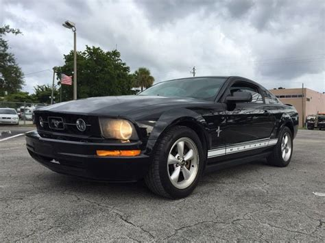 2007 Ford Mustang In Hollywood Fl  Cars 4 You