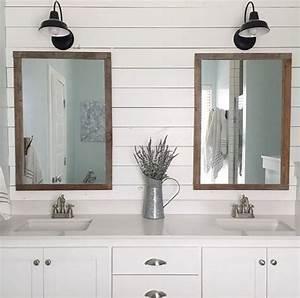 Bathroom lighting inspiration courtesy of instagram blog for Barn lights for bathroom