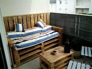 Salon De Jardin Palettes : salon de jardin en palette de bois bricobistro ~ Farleysfitness.com Idées de Décoration