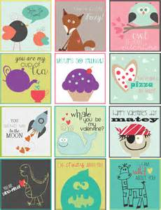 Free Printable Valentine's Labels
