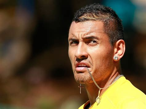 tennis player nick kyrgios caught  camera telling  opponent   girlfriend cheated