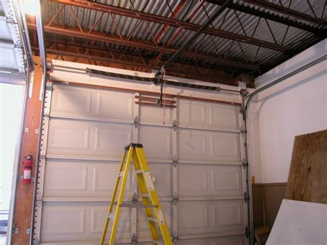 installing self tapping sheet metal screws in a garage door opener garage door installation pictures