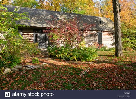the clearing door county log building in the clearing folk school in ellison bay