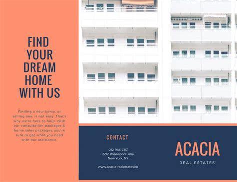 customize  real estate brochure templates  canva