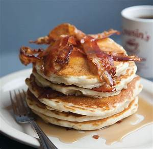 Bacon Pancakes Recipe  U2014 Dishmaps