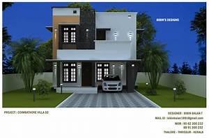 1378, Square, Feet, Double, Floor, Modern, Home, Design, Below, 20