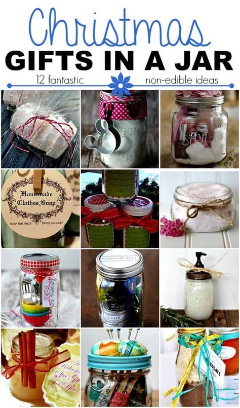 christmas gifts in a jar non edible ideas