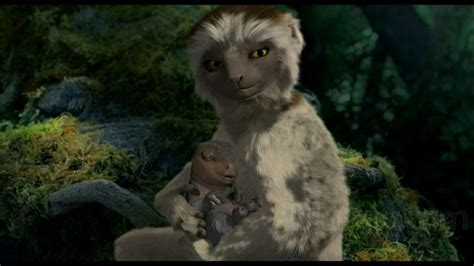 Baby Aladar And His Adoptive Mother From