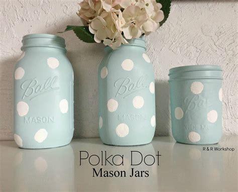 jar crafts polka dot mason jars fun crafts kids