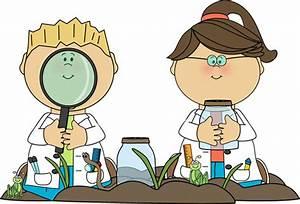 Kids in Science Class Clip Art - Kids in Science Class ...