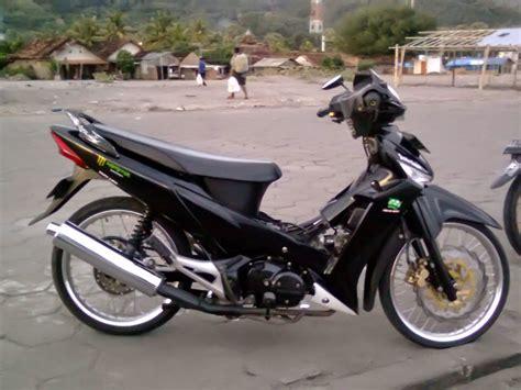 foto modifikasi sepeda motor supra fit terkeren dan