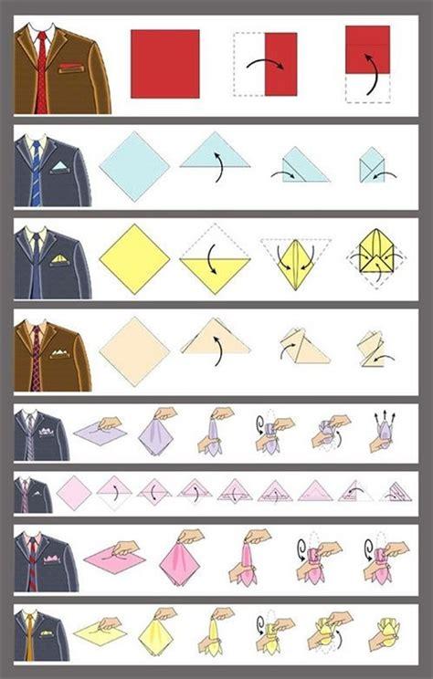 fold  pocket square man