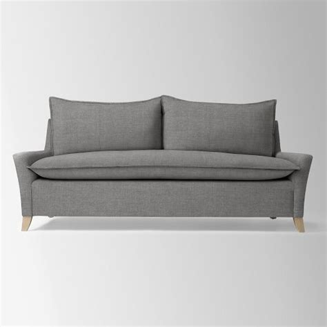 bliss down filled sofa west elm dream home pinterest