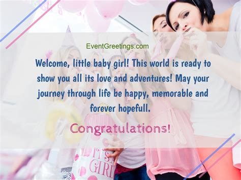 Born Baby Girl Quotes New