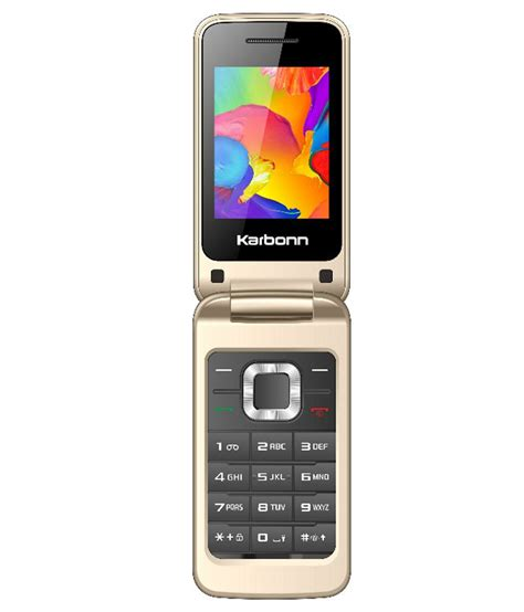 Mobile India by Karbonn K Flip Feature Phone At Low Prices