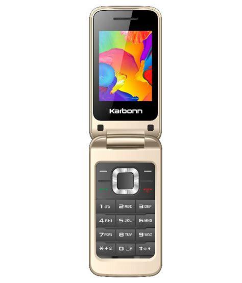 Dual Sim Mobile In India by Karbonn K Flip Dual Sim 64mb Price In India Buy Karbonn