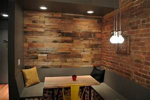 Reclaimed wood paneling - Sustainable Lumber Company