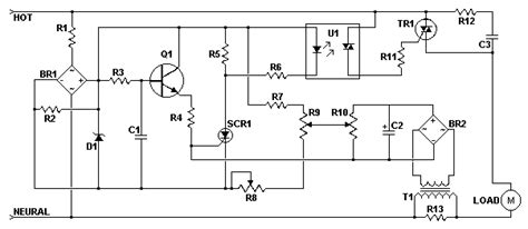 Ac Motor Schematic ac motor speed controller