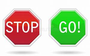 Stop And Go : stop go signs stock vector illustration of signs white 21901662 ~ Medecine-chirurgie-esthetiques.com Avis de Voitures