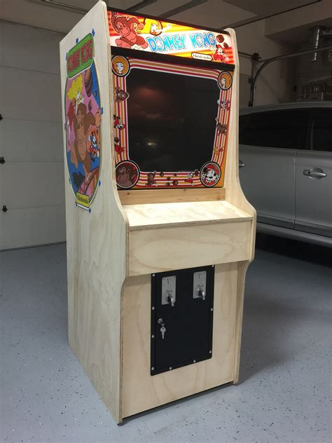 how to build an arcade cabinet from scratch yet another kong scratch build