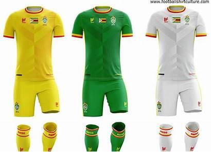 Kits Zimbabwe Sports Football Shirt Afcon